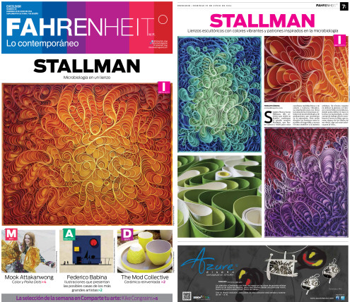 stallman, canvas on edge, stephen stum, jason hallman, fahrenheit magazine
