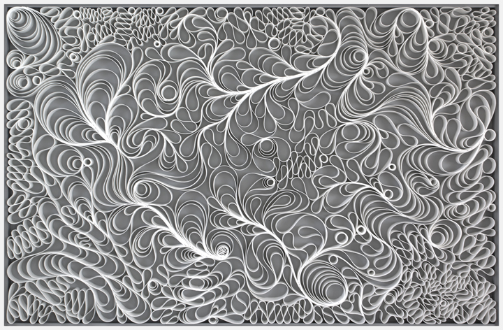 Jason Hallman, Stephen Stum, minimalist, modern art, stallman, morning blossom, black and white art, joanne artman gallery, Coral Reef