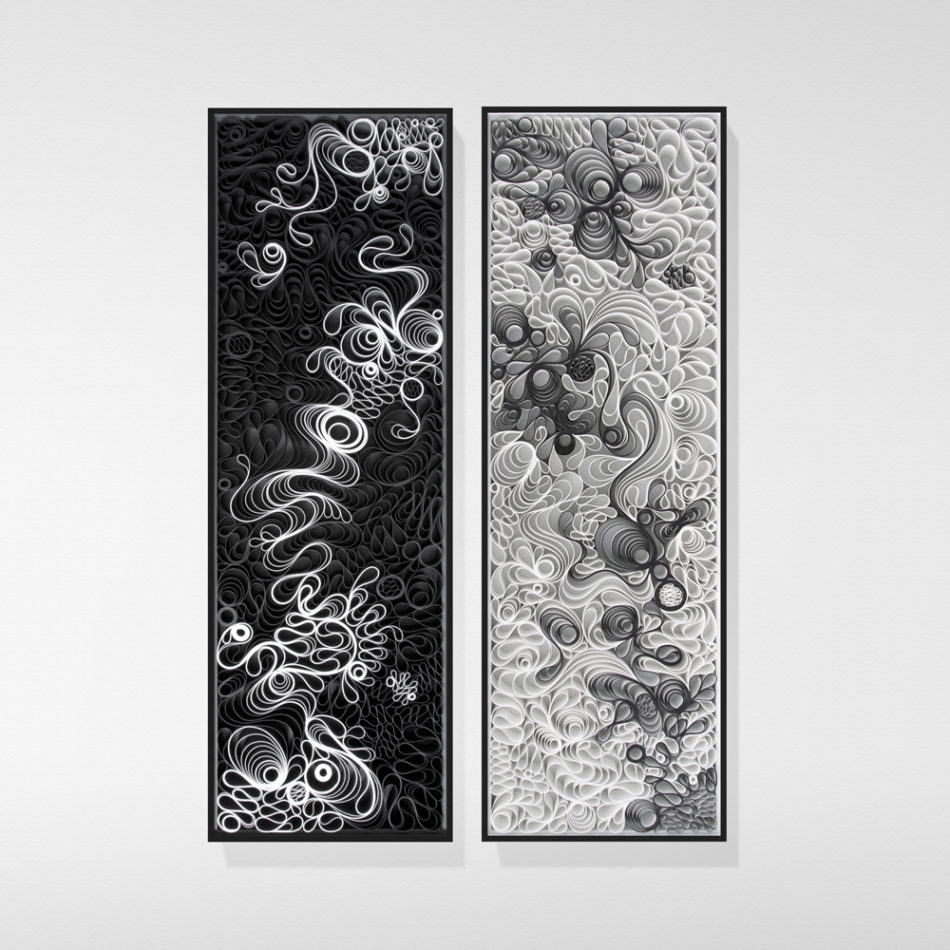 Jason Hallman, Stephen Stum, minimalist, modern art, stallman, morning blossom, black and white art, AAF NYC
