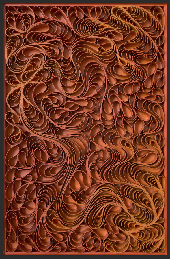 stallman, Original artwork, sculpture, seattle, jason hallman, stephen stum, orange, mid century, fire, warm color, solar flare