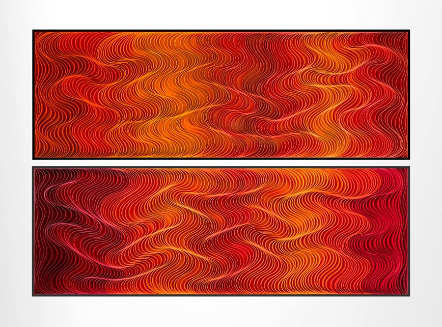 Stallman, modern, paper art, Original artwork, sculpture, abstract art, canvas on edge, fine art, blue, ocean, water, coastal art, seattle, jason hallman, stephen stum, blue,ocean, turquoise, Caribbean, stallman, ocean art, jason hallman, stephen stum