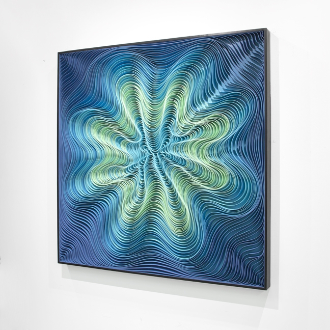 Stallman, modern, paper art, Original artwork, sculpture, abstract art, canvas on edge, fine art, blue, ocean, water, coastal art, seattle, jason hallman, stephen stum, blue,ocean, turquoise, Caribbean, stallman, ocean art, jason hallman, stephen stum, blue, aqua, ocean colors, hawaii