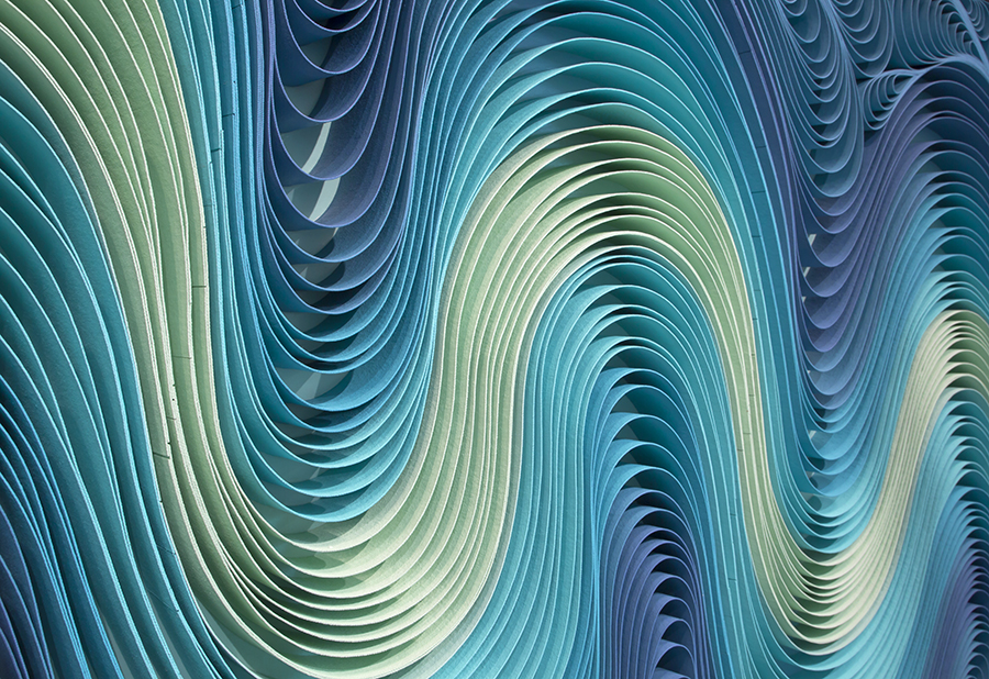 Stallman, modern, paper art, Original artwork, sculpture, abstract art, canvas on edge, fine art, blue, ocean, water, coastal art, seattle, jason hallman, stephen stum, blue,ocean, turquoise, Caribbean, stallman, ocean art, jason hallman, stephen stum, blue, aqua, ocean colors