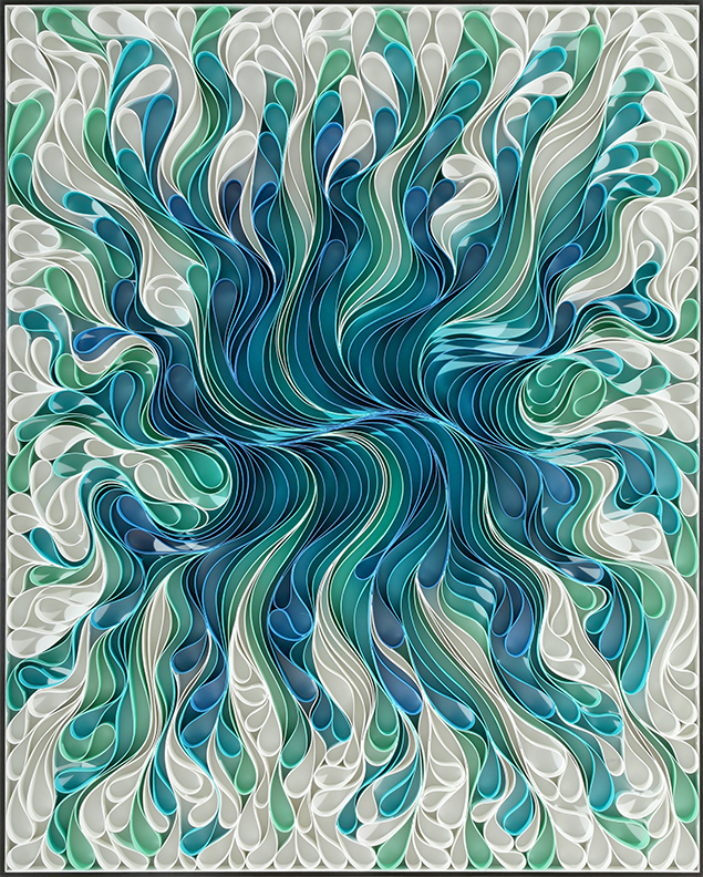 stallman, stallman studio, modern, Original artwork, sculpture, abstract art, canvas on edge, fine art, purple, ocean, water, coastal art, seattle, jason hallman, stephen stum, blue, black and white