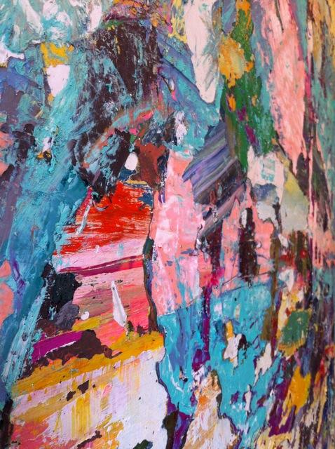 SOLD – Waterfall (2012) 36 x 48 x 3″
